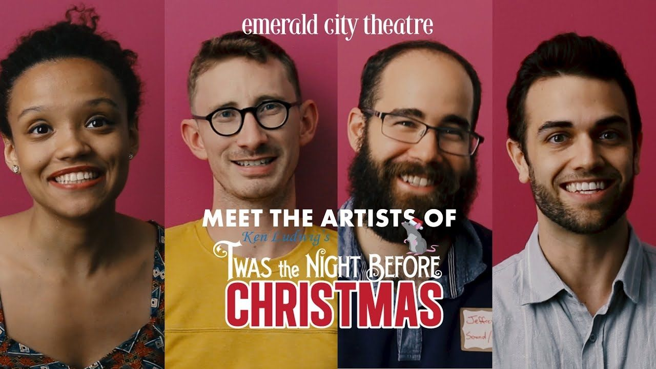 meet the cast of ken ludwigs twas the night before christmas - The Night Before Christmas Cast