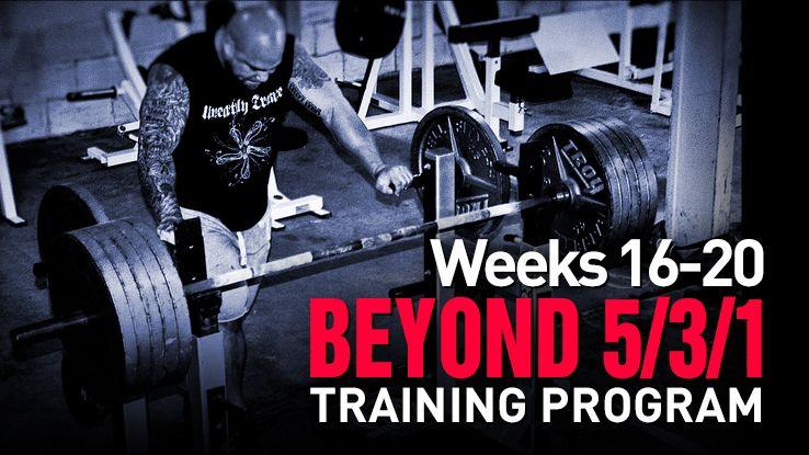 beyond 5 3 1 workout pdf