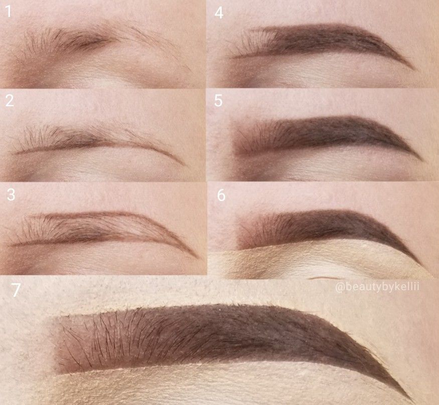 Eyebrow Pictorial #sparseeyebrows A pictorial for sparse ...