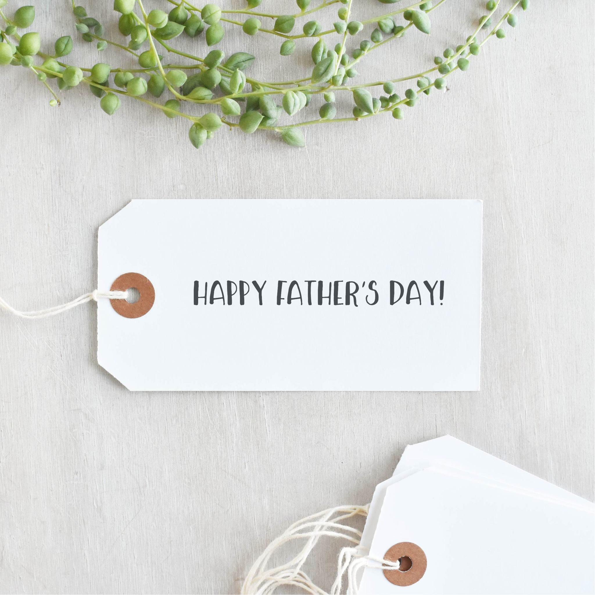 Line happy fathers day stamp perfect fathers day gift