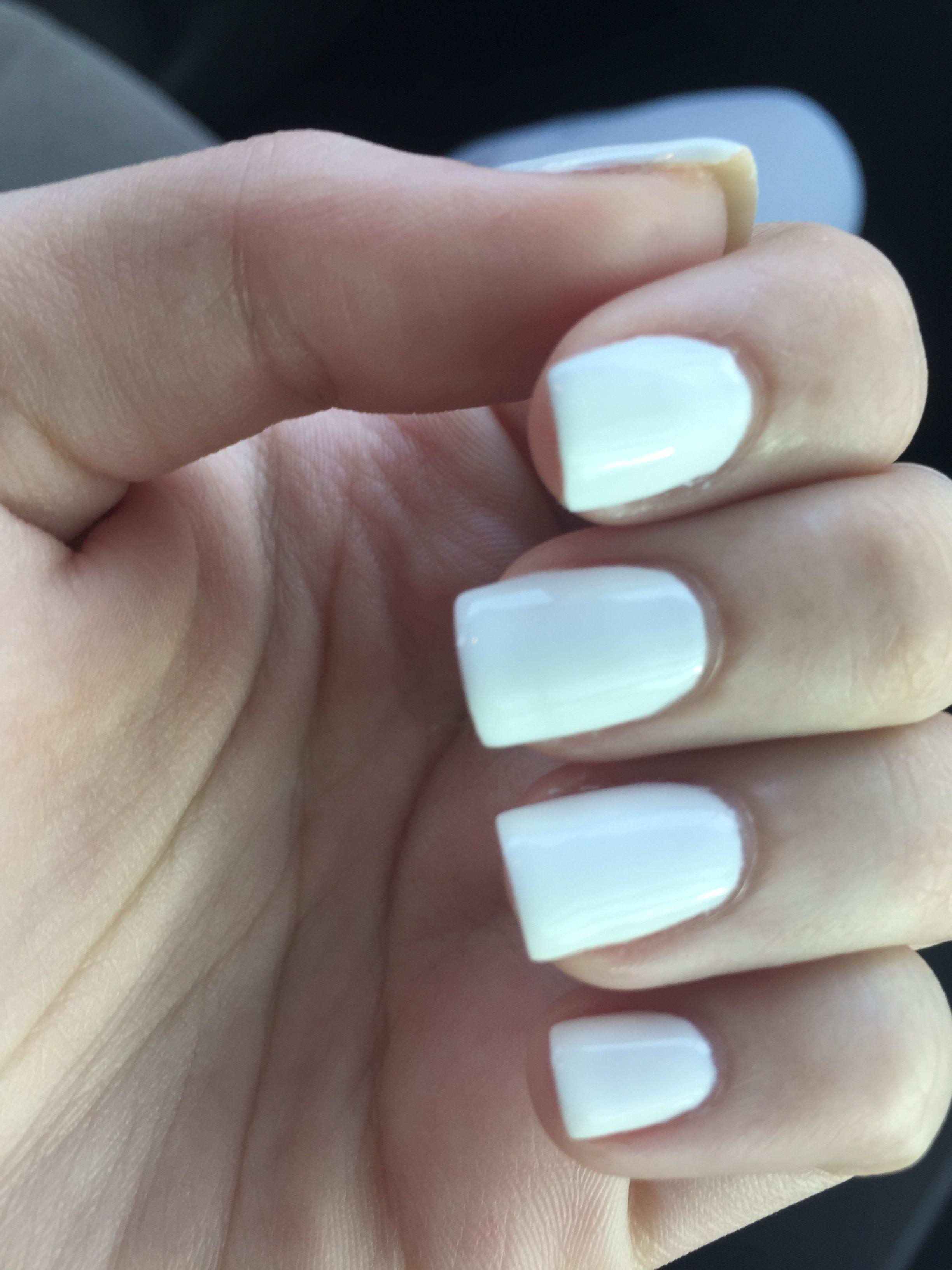 Nails Gelnails White Short Gel Nails Short Gel Nails Nails Gel Nails