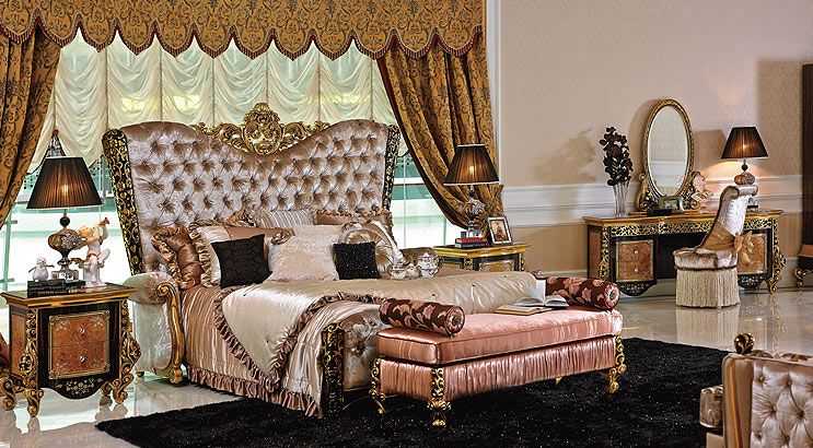 Italian Bedroom European Sets Clical Furniture