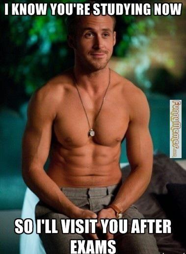 6 Ryan Gosling Memes To Get You Through Finals Ryan Gosling Mary
