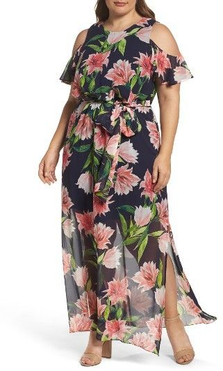Maxi dresses plus size for every day