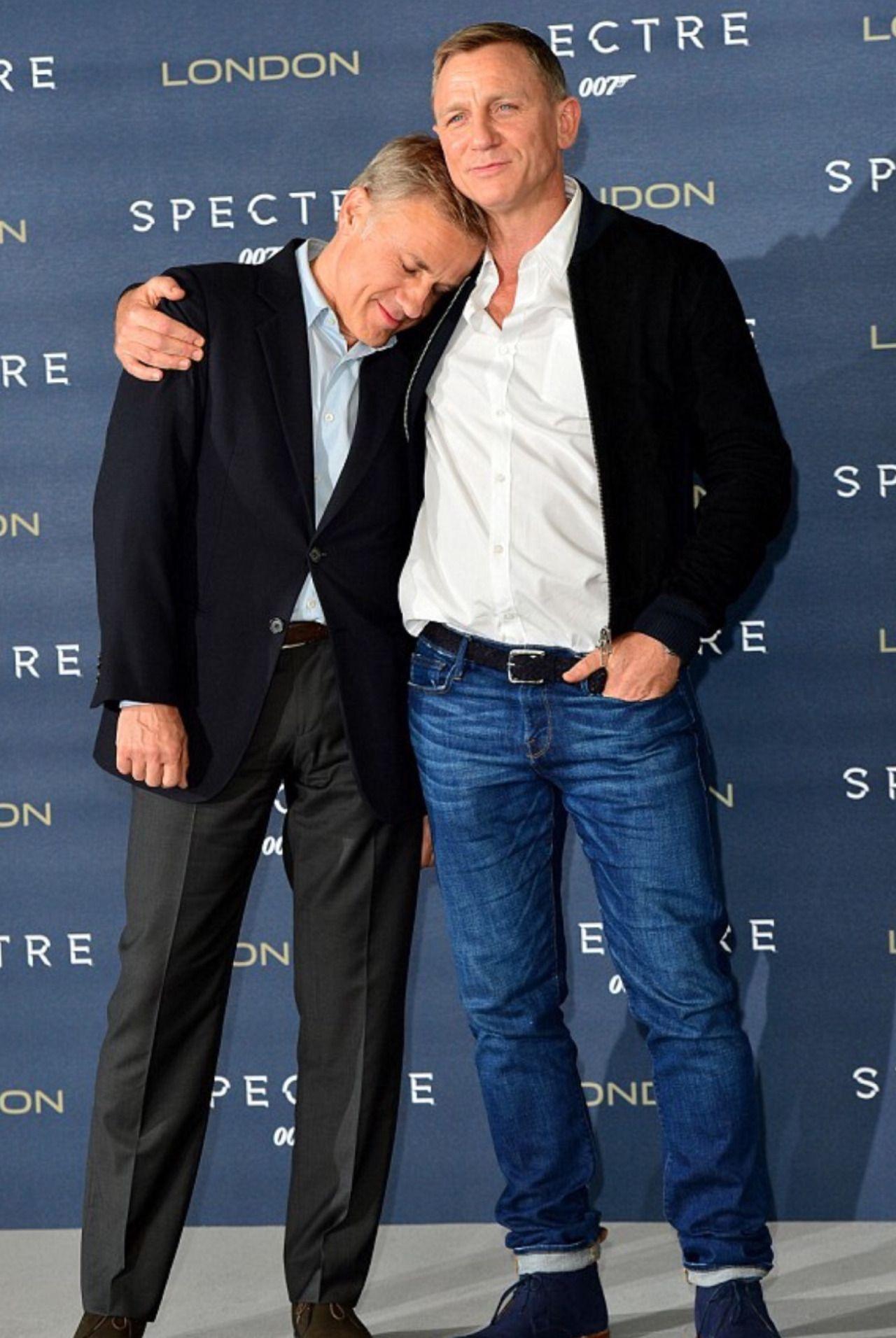 Christoph Waltz & Daniel Craig   gents   Daniel craig ...