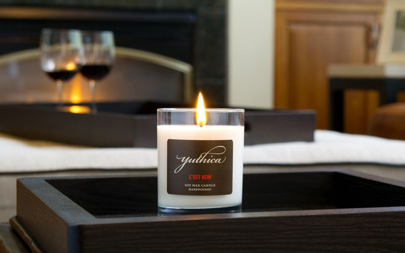 artisinal soy candles ~ hand poured and made in the usa