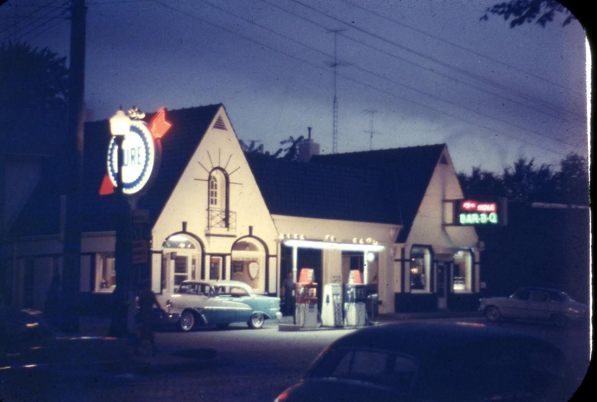Home Oil Company, Gas Station, Rochester, Minnesota