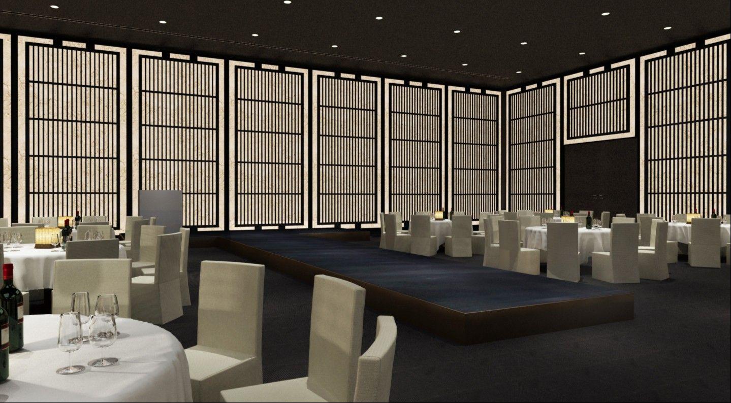 Armani hotel dubai ballroom ballroom pinterest for Armani hotel dubai interior design