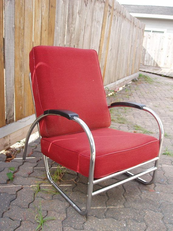 art deco royal chrome lounger chair l o u n g e c h a i r s rh pinterest com