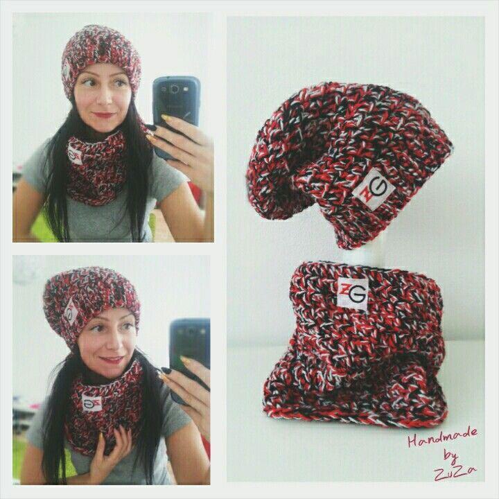 Crochet winter woman set