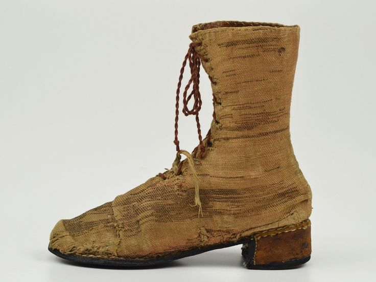 woman's boot mid 17th c