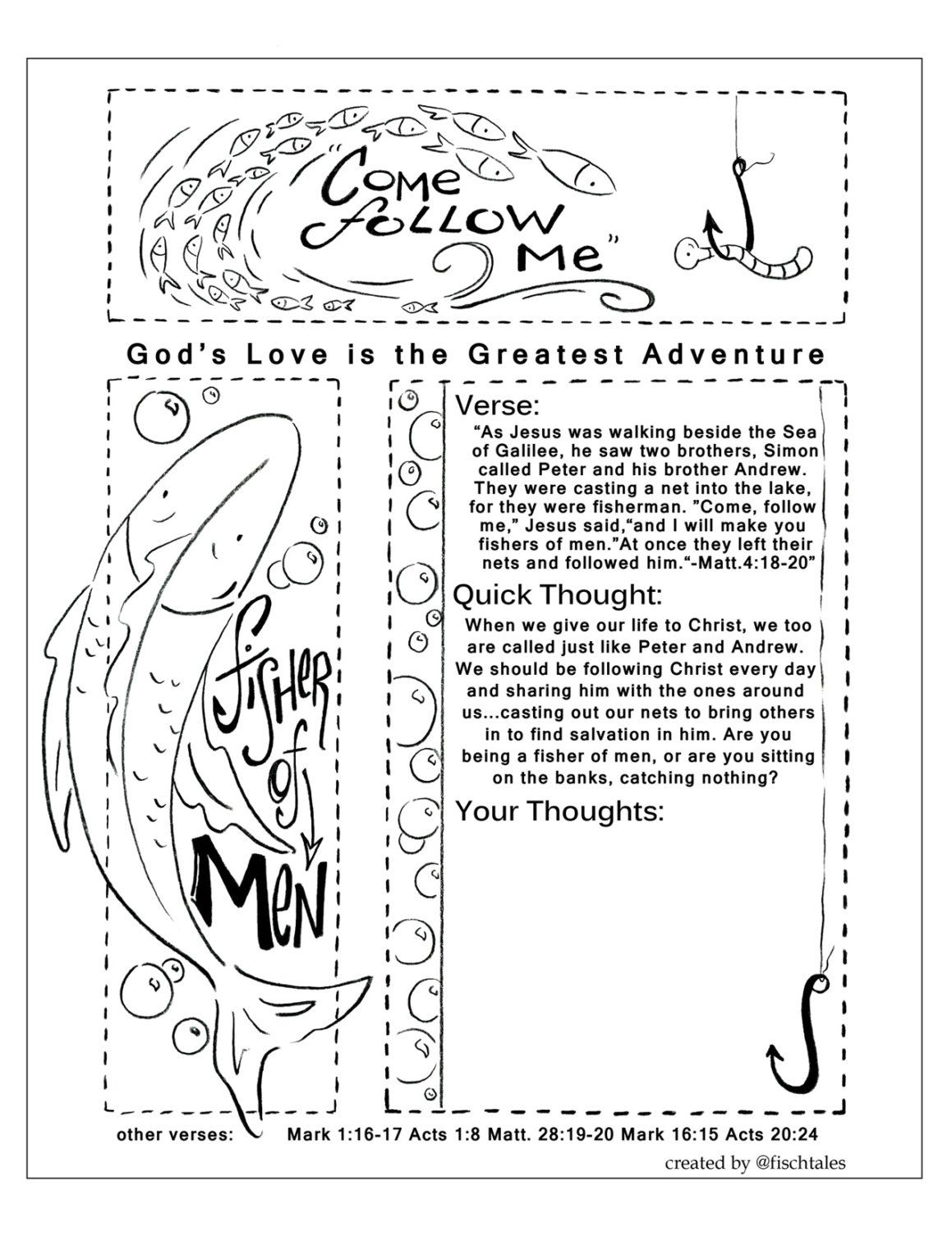 Image Result For Mark 16 15 Coloring Page