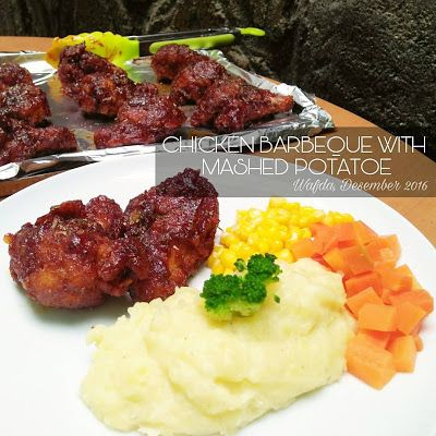 Resep Ayam Barbeque Dengan Mashed Potatoe By Dapurwafda Resep Ayam Makan Malam Resep Masakan Indonesia