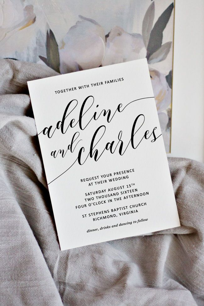 How To Make Your Own Wedding Invitations The Ultimate Guide For