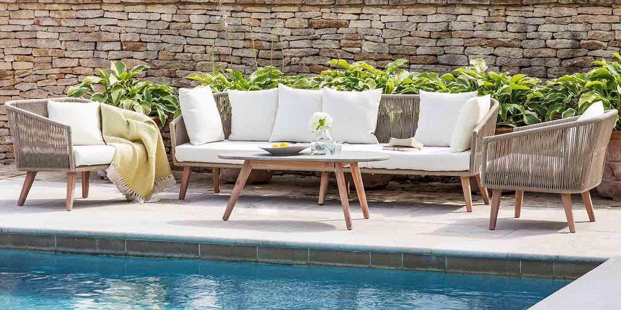 Colwell Garden Sofa Set In 2019 Domacnost Garden Sofa