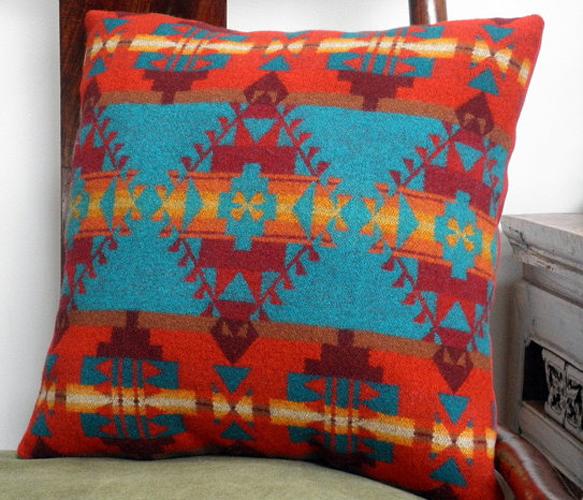 Navajo Throw Pillow  by UrbanCamp