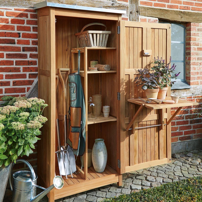 Tool Cabinet Teak More Garden Shed Diy Garden Tool Shed Garden Storage Shed Backyard garden tool storage