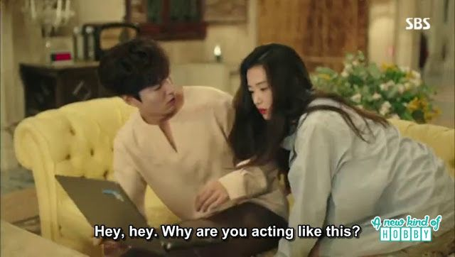 Sim chung scared Joon Jae when he was watching a movie on the laptop - The Legend of the Blue Sea - Episode 2 (Eng Sub)