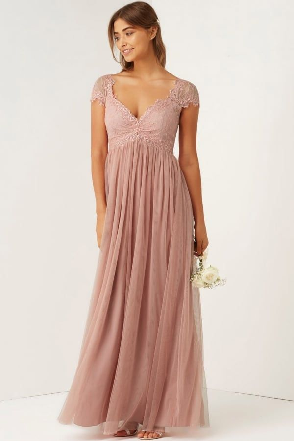 Maxi dresses in different colours of roses