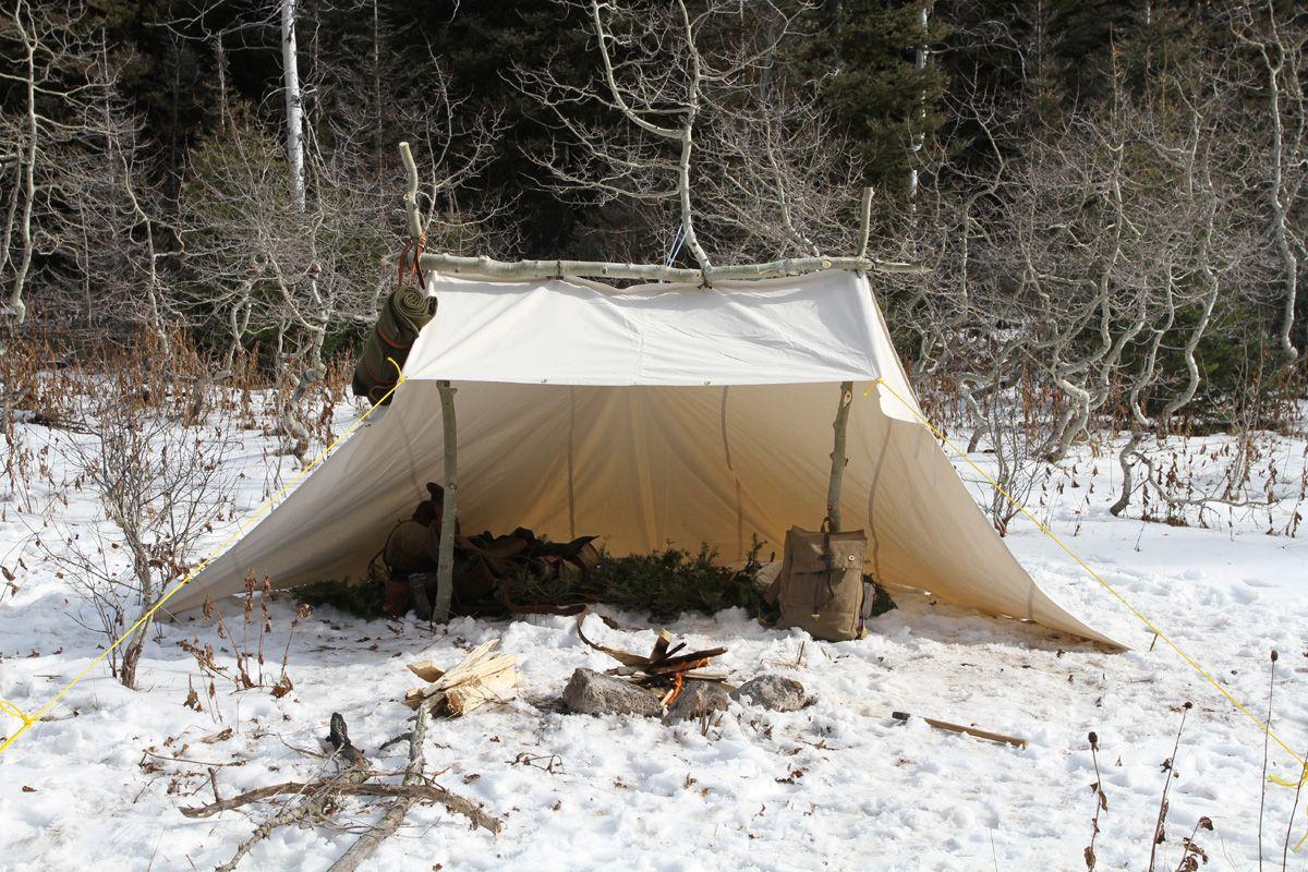 Mountain Man Shelters : Canvas whelan tarp shelter tents tipis and portable