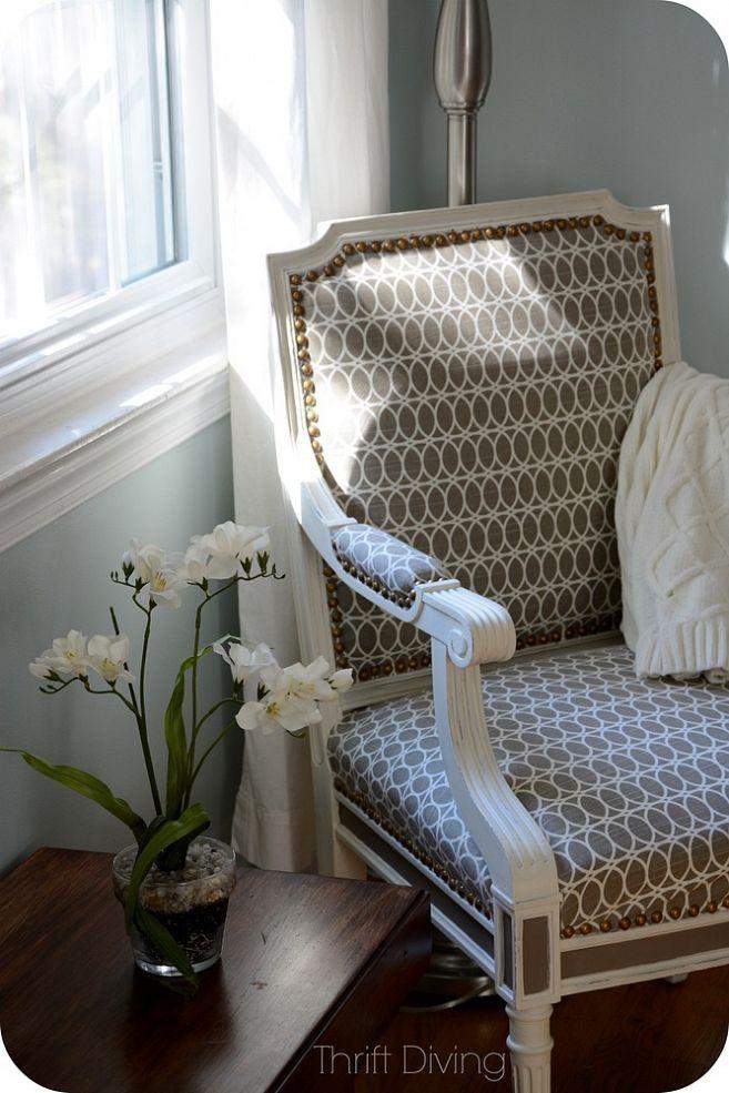 BEFORE U0026 AFTER: Vintage Chair Makeover