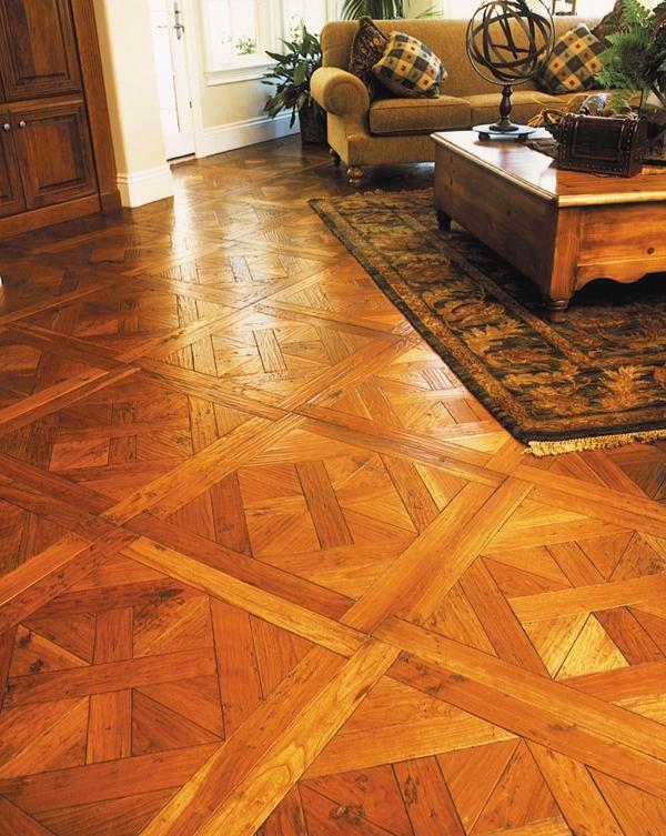 Renaissance Floors Ca Finished Parquet Floor With Waterlox