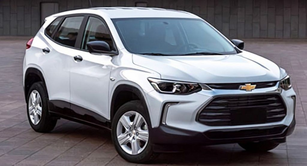 2020 Chevrolet Tracker Gets An Early Reveal In China Chevrolet