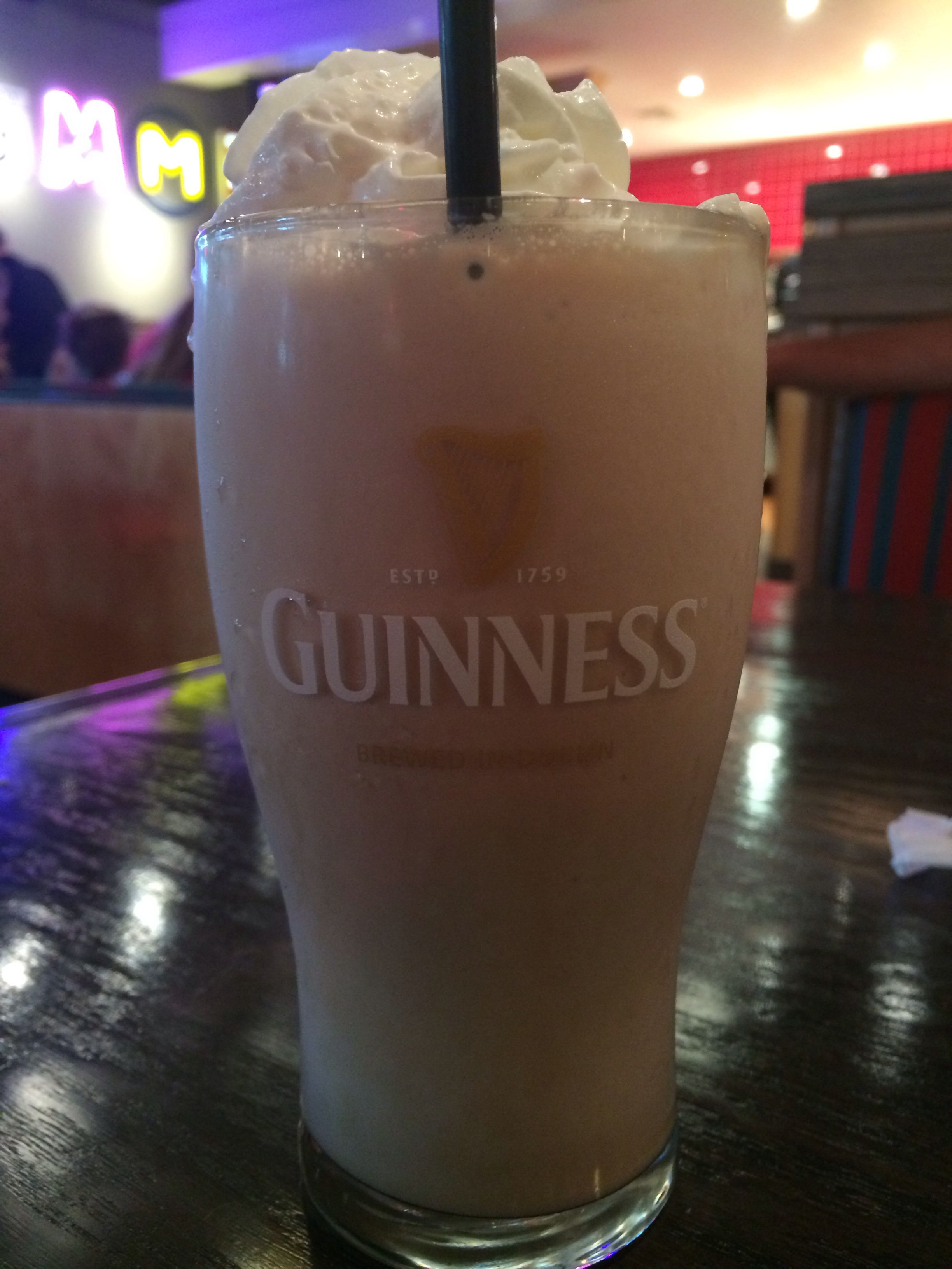 irish shake at red robin ingredients include guinness stout