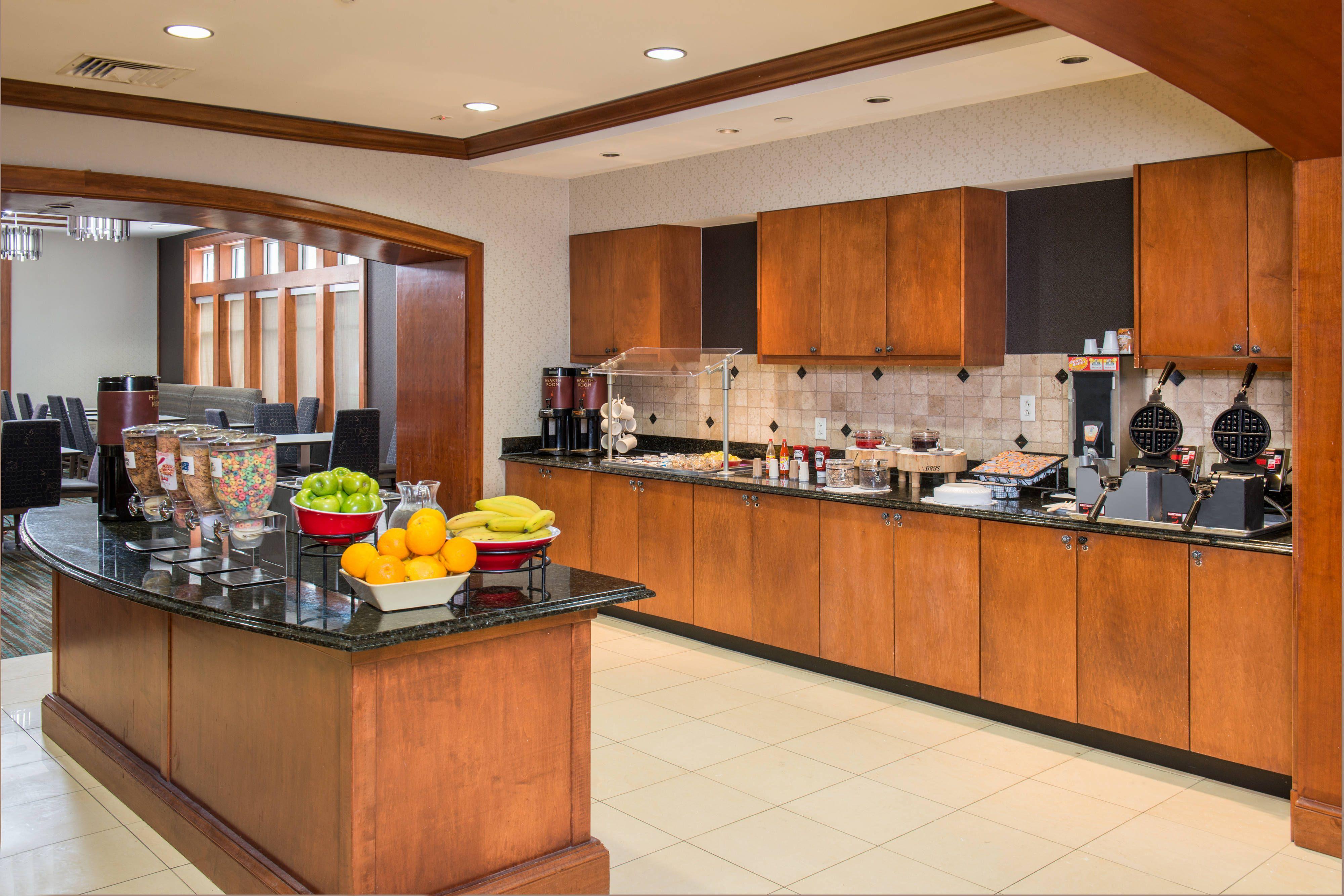 Residence Inn Chesapeake Greenbrier Breakfast Buffet