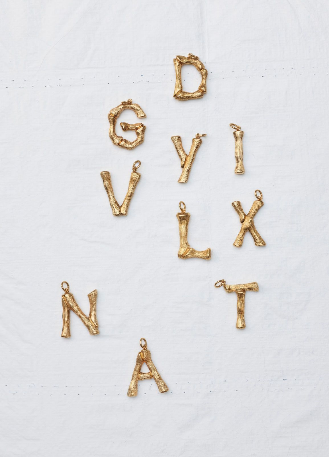 Alphabet Collection  Letter Pendant  Cline  Wish List