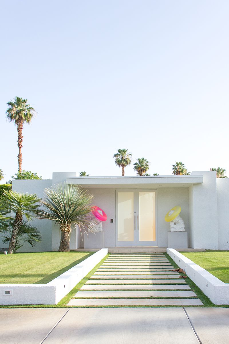 Those palm springs doors take me there palm springs - Palm springs interior design style ...