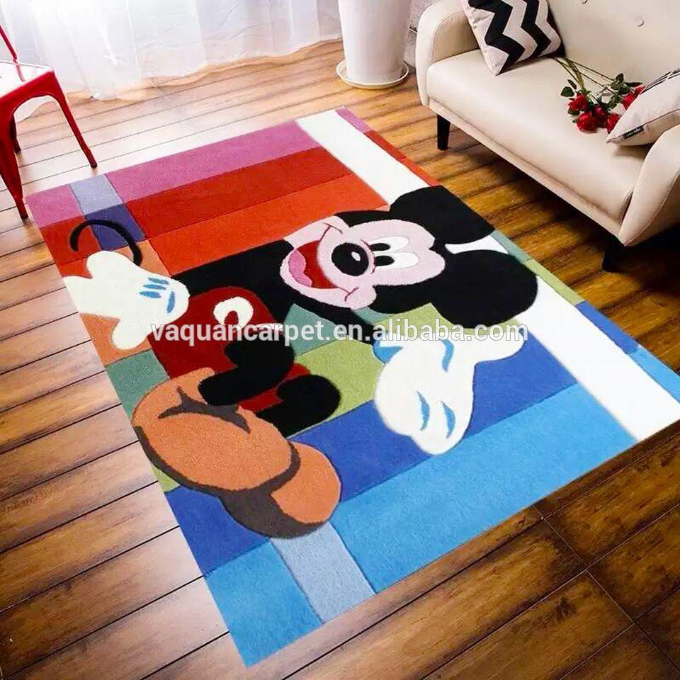 High Quality Cartoon Kids Rug Hand Tufted Wool Carpet With ...