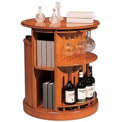 Estantes y muebles para vinos y otros licores bar en casa ideas de muebles - Muebles para vino ...