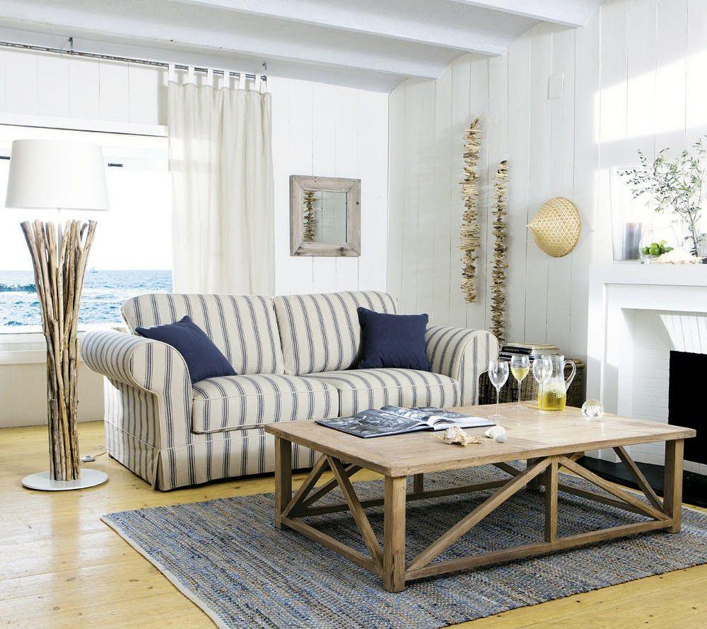 canap 3 places convertible coton beige ray gris victoria d co pinterest maison bord de. Black Bedroom Furniture Sets. Home Design Ideas