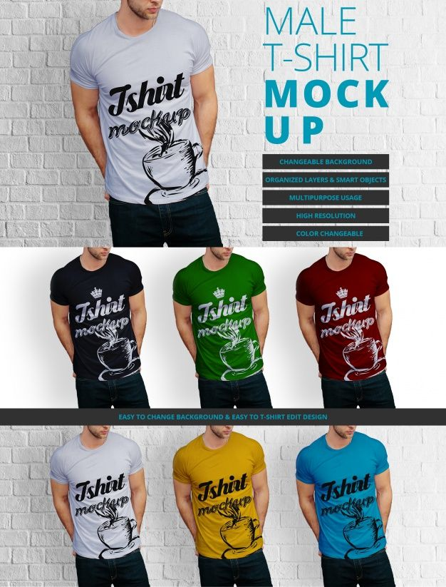 Download Freepik Graphic Resources For Everyone Shirt Mockup Tshirt Mockup T Shirt