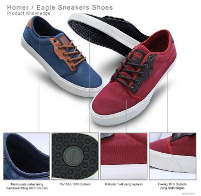 Sepatu Eagle Mencoba Lebih Eksis Di Ranah Digital Sepatu