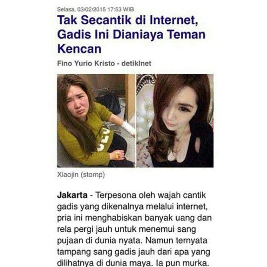 Wkwkwk Makanya Klo Edit Foto Jgn Keterlaluan Kencan Pria