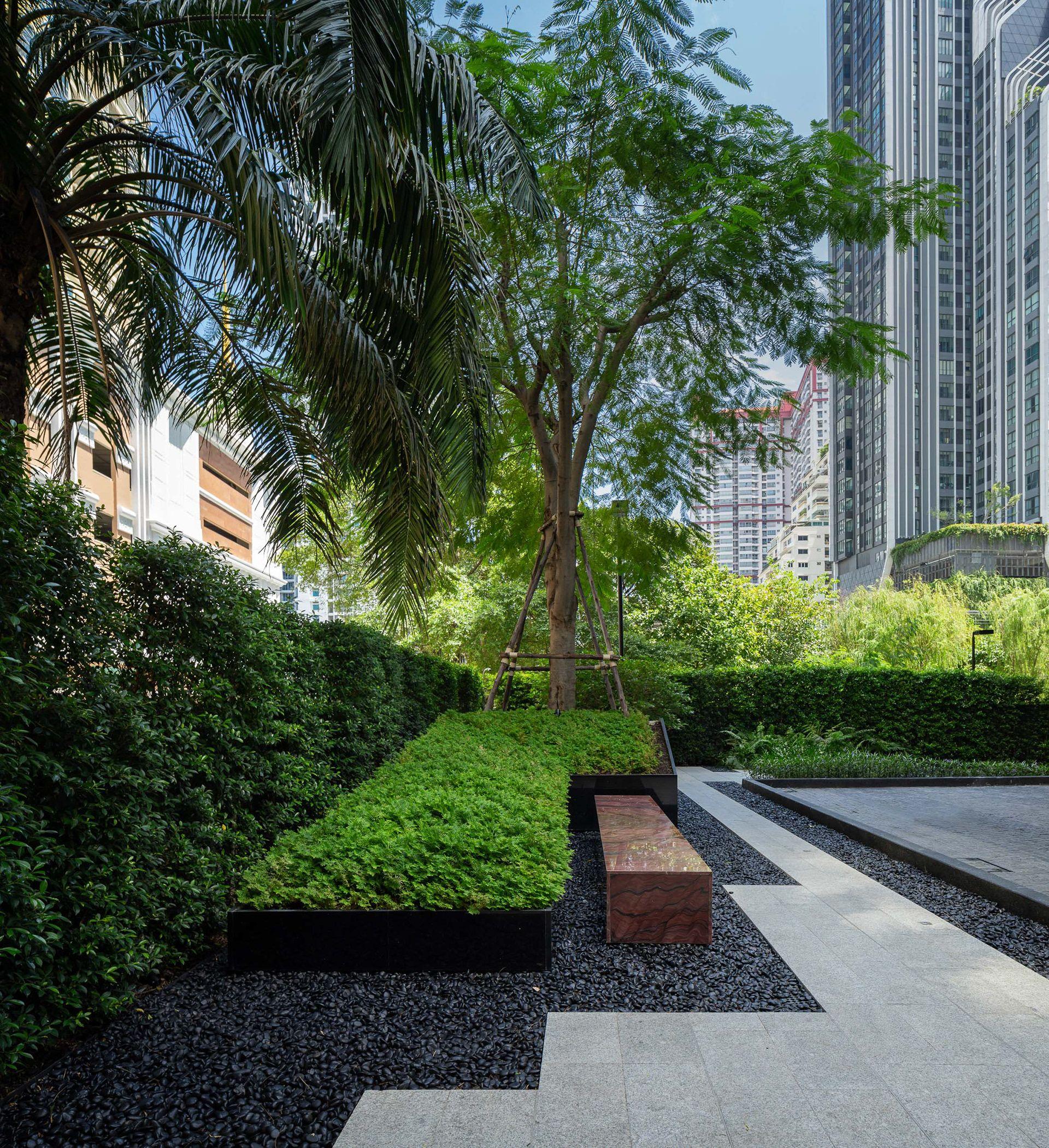 The Line Ratchathewi Landscape On Behance Landscape Architecture Design Landscape Design Landscape Architecture