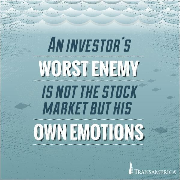 C Stock Quote: An Investor's Worst Enemy Is Not The Stock Market But His