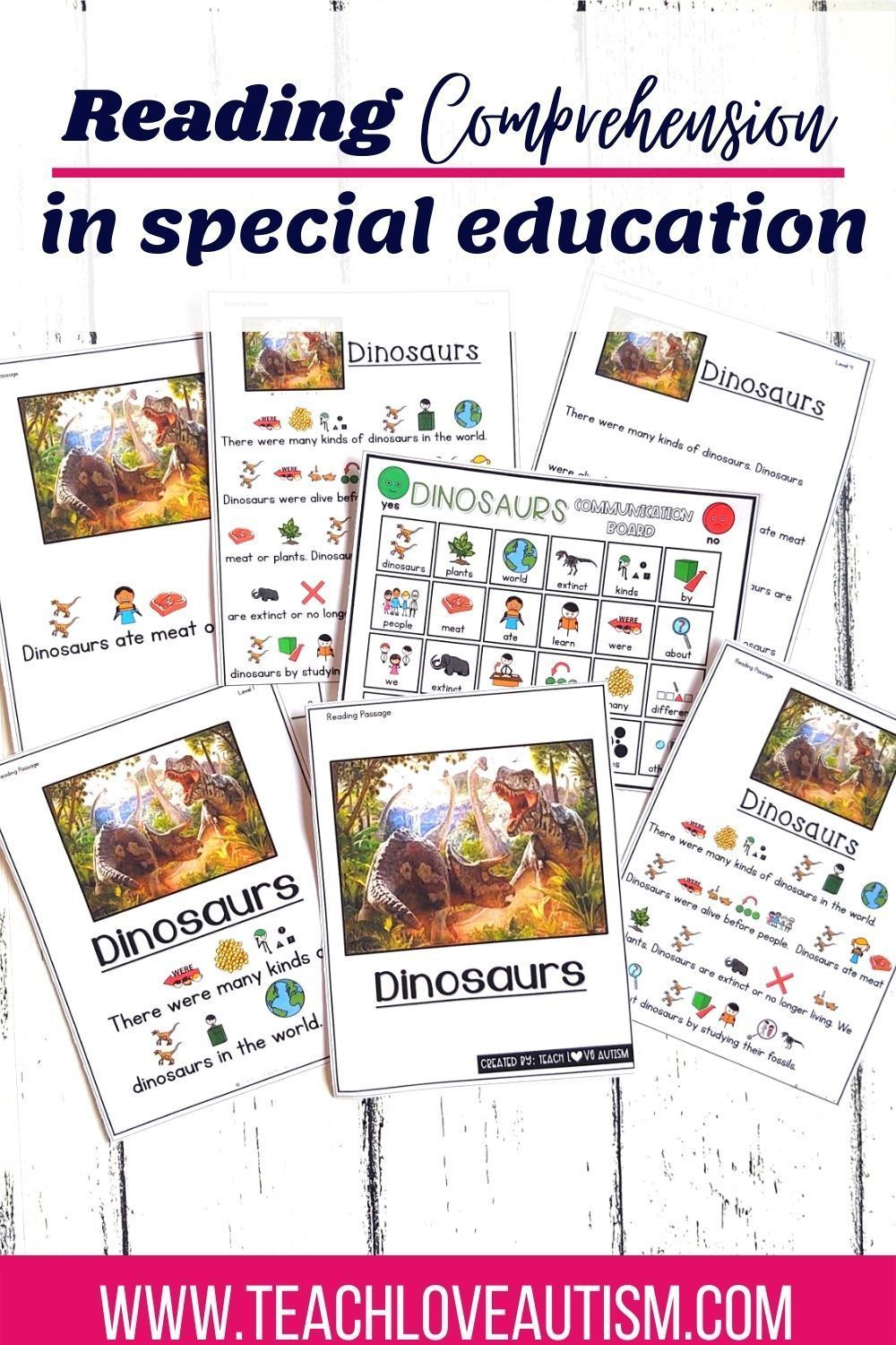 Reading Comprehension In Special Education Teach Love Autism Special Education Comprehension Special Education Reading Comprehension Special Education Reading Activities [ 1500 x 1000 Pixel ]