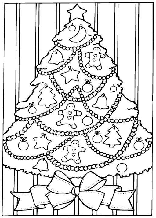 Coloriage De Noel Gratuit