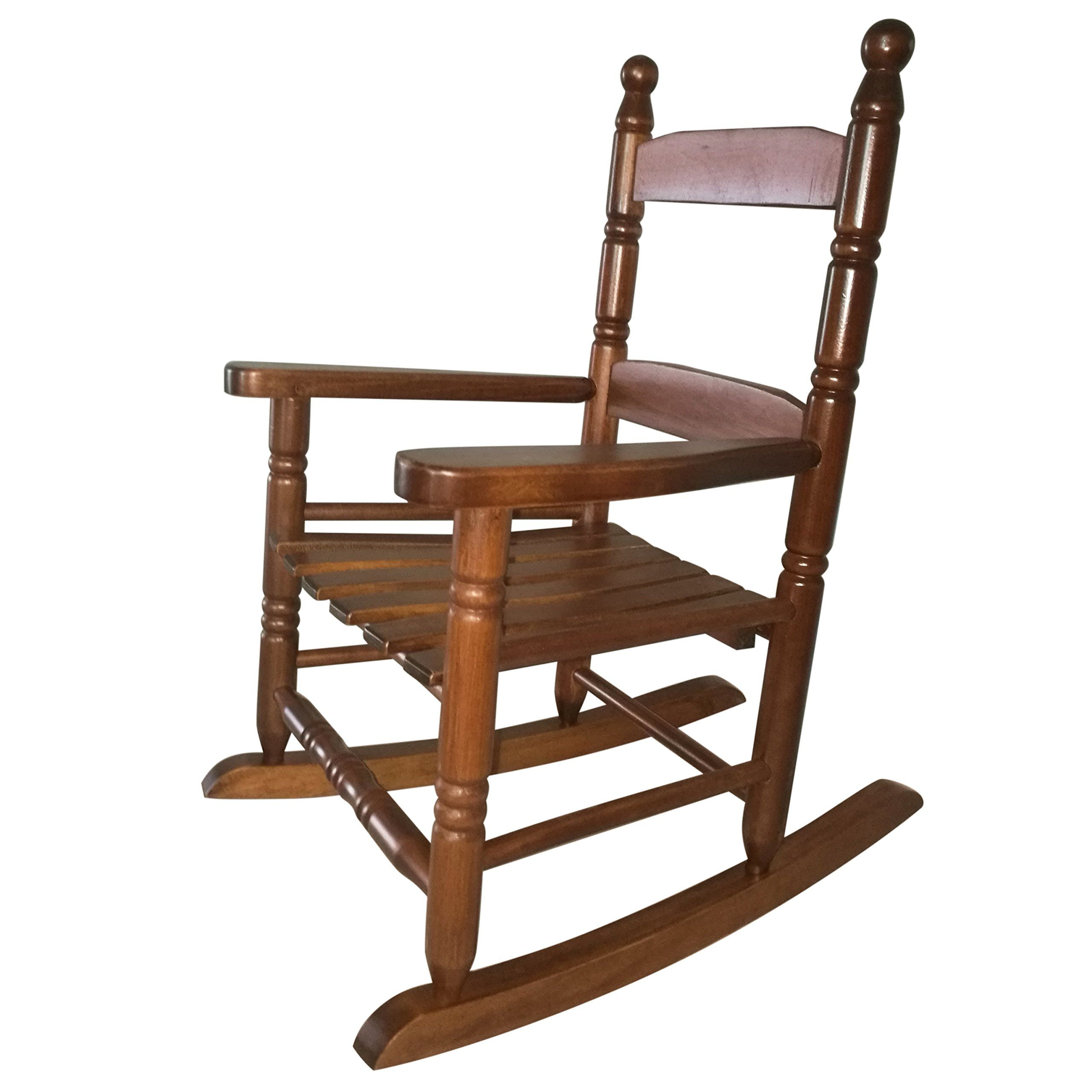 Rockingrocker K10NT Natural Wood Child's Rocking Chair