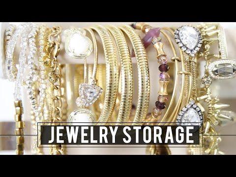 Jewelry Storage Tour | Miss Louie - YouTube