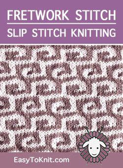 The Art of Slip-Stitch Knitting #slipstitch