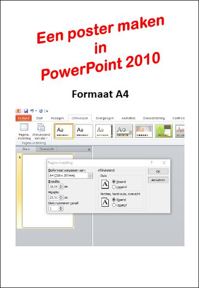 Edu-Curator: Hoe maak je posters op A4- of A3-formaat met PowerPoint of Google Presentaties?