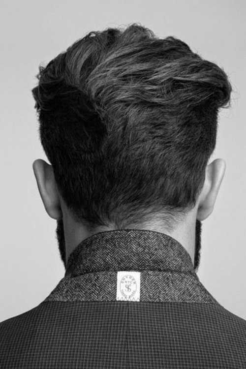 Back View Of Short Hair For Men Ftm In 2019 Hair Styles Mens