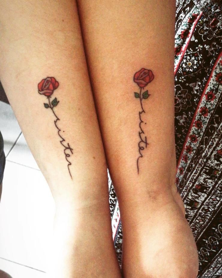 50 Matching Tattoos Sisters Can Get Together