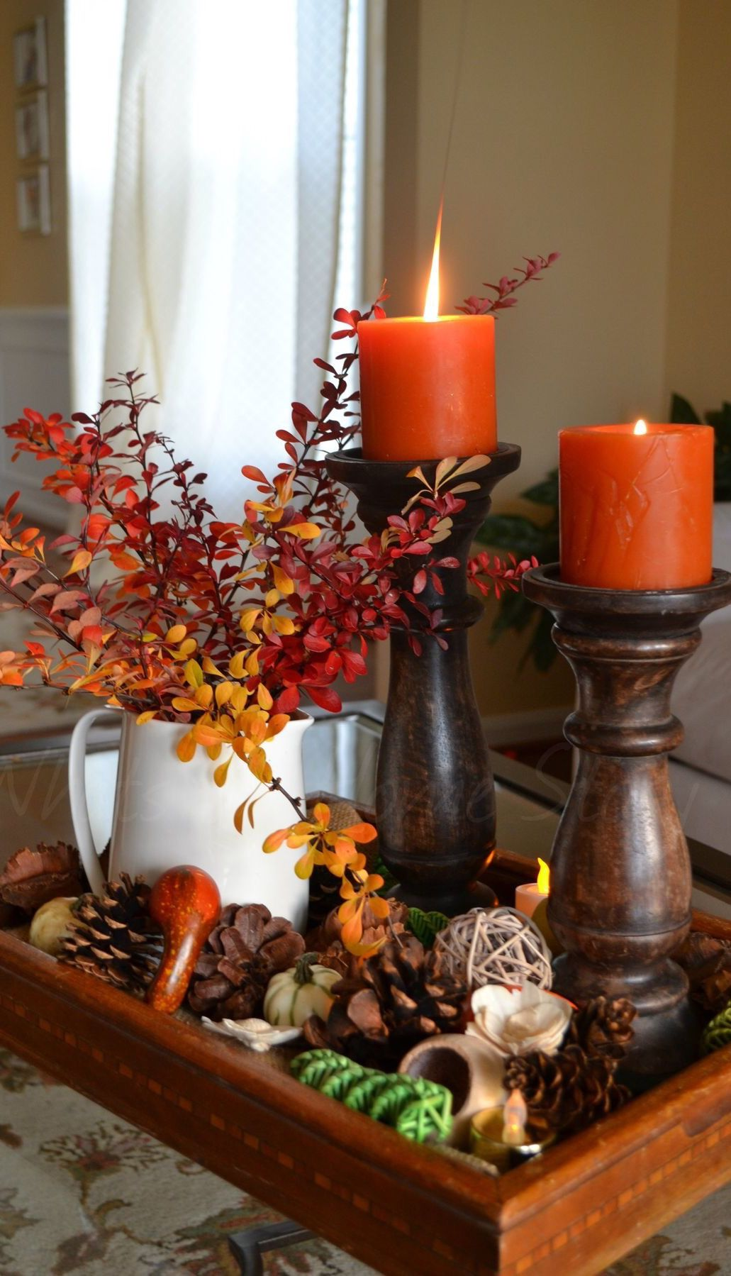 Pin by Lavelle Hatton on Autumn/Fall Fall table decor