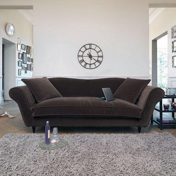 Best Modern Classic Dark Brown Velvet Fabric Sofa Ideas Best 400 x 300