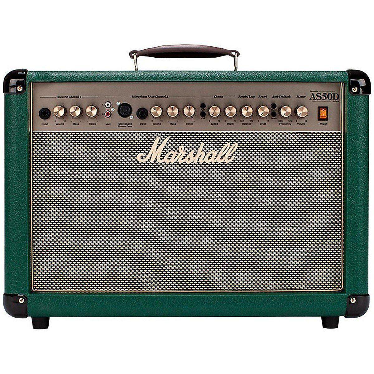 Rainbow Music Marshall As50d Acoustic Guitar Amplifier Green 269 00 Http Www Rainbowmusic Co Uk Marshall As50d Acoustic Acoustic Guitar Guitar Acoustic